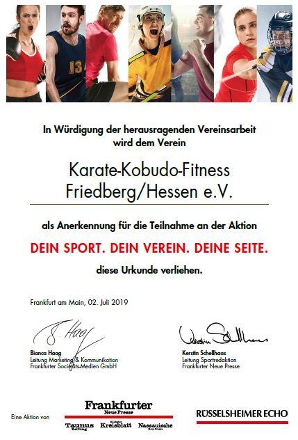 Starker Sport - Starker Verein